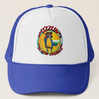 SIZZLIN PARROTS TRUCKER HAT