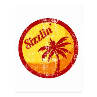 Sizzlin' Postcard