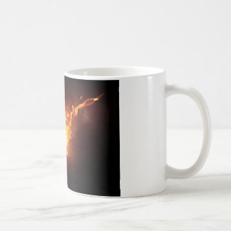 Sizzlin' soccer fan coffee mug