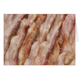 Sizzling Bacon Card
