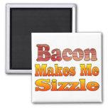 Sizzling Bacon Fridge Magnets