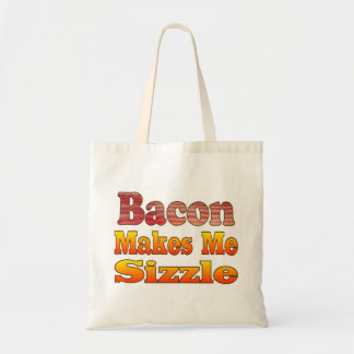 Sizzling Bacon Tote Bag