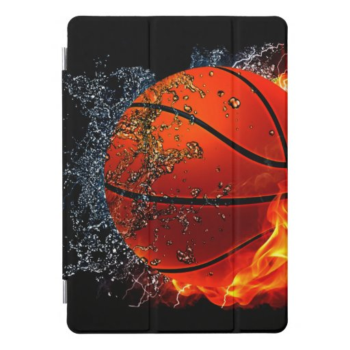 Sizzling Basketball iPad Pro Cover
