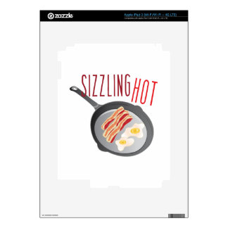 Sizzling Hot Decals For iPad 3
