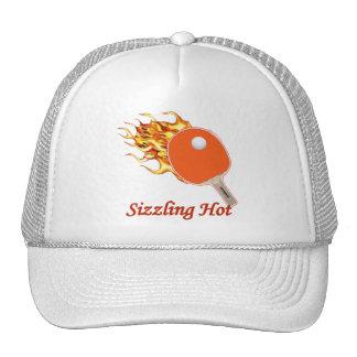 Sizzling Hot Flaming Ping Pong Trucker Hats