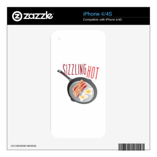 Sizzling Hot iPhone 4 Skin