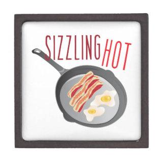 Sizzling Hot Keepsake Box