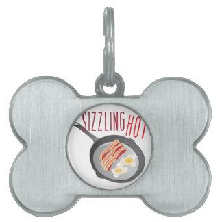 Sizzling Hot Pet Name Tag