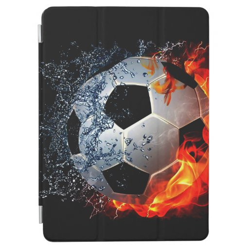 Sizzling Soccer iPad Air Cover