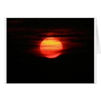 Sizzling Sunset Card