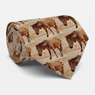 Sizzling zebra tie