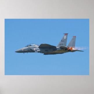 SJ AF 87 0179 F-15E Strike Eagle Poster