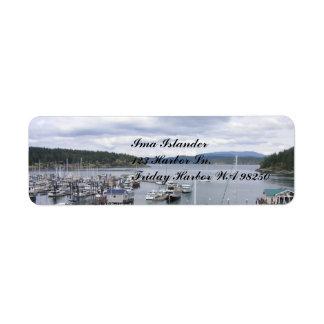 SJI Islander Label