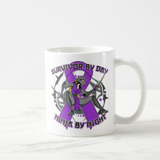 Sjogrens Syndrome Survivor By Day Ninja By Night Coffee Mug