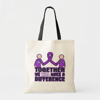 Sjogren's Syndrome We'll Make A Difference Tote Bags