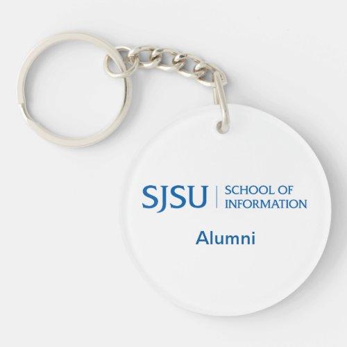 SJSU iSchool Alumni Keychain