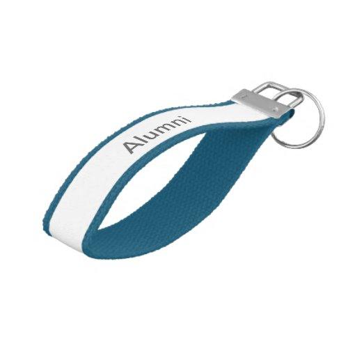 SJSU iSchool Alumni Ribbon Keychain