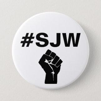 #SJW Social Justice Warrior Button