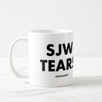 SJW TEARS CLASSIC WHITE COFFEE MUG