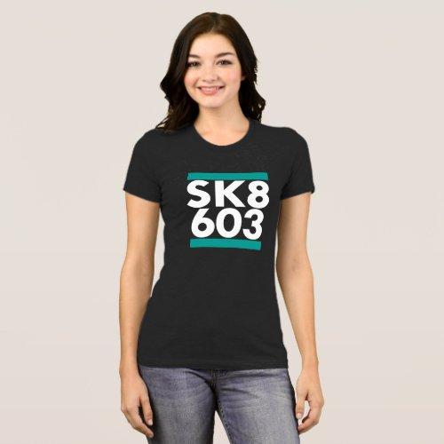 SK8 603 logo T_Shirt