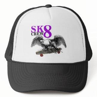 SK8 CREW 8 hat