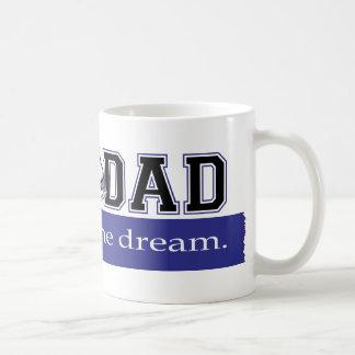 SK8 DAD - Funding the Dream - Blue - Horizontal Coffee Mug