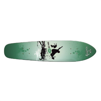 SK8 DK Skateboard_green Skate Deck