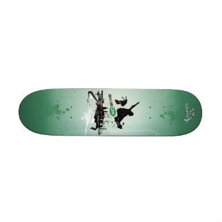 SK8 DK Skateboard_green Custom Skate Board