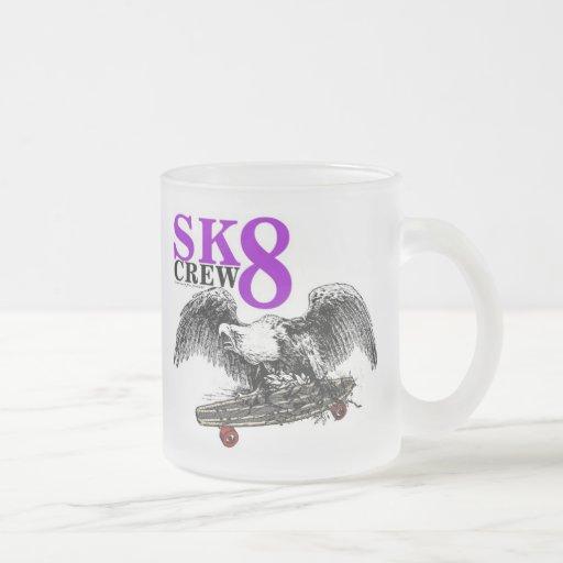 SK8 EQUIPO 8 TAZAS DE CAFÉ