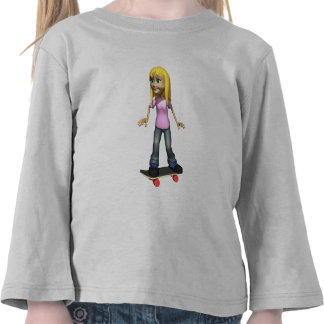 Sk8 Girl Tee Shirt