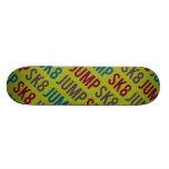 Sk8 jump skate board decks