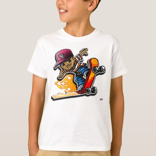 Sk8 Kid T_Shirt