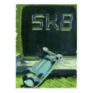 Sk8 or Die Postcard