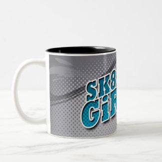 SK8-R Girl mosquito GREY Mugs