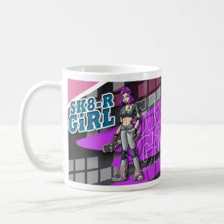 SK8-R Girl Mug