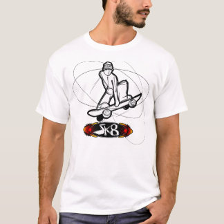 SK8 SkateBoarding T-Shirt