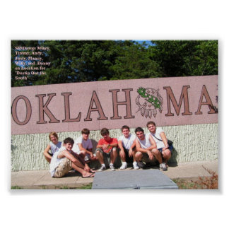 SK8DAWGS in OKLAHOMA Poster