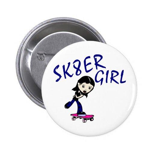 sk8er girl button