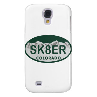 sk8er license oval galaxy s4 case