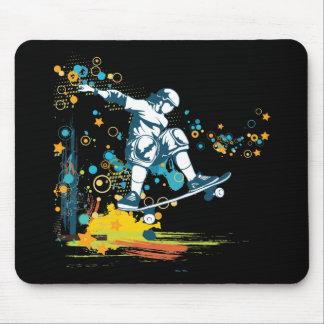 sk8er skateboarder vector mouse pad
