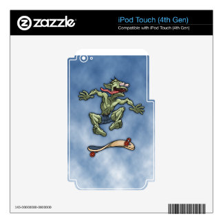 Sk8fish Fred Decal For iPod Touch 4G