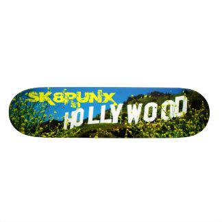 "SK8PUNX en hollywood Patineta 7 7/8"""