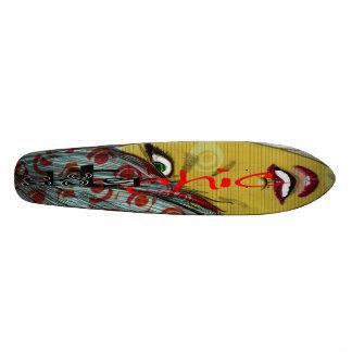 sk8ter chics rule! skateboard
