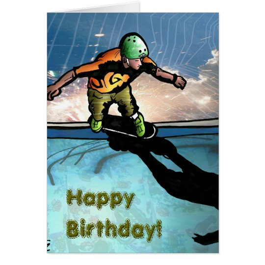 Sk8thony-jgad, HappyBirthday!, HappyBirthday! Card
