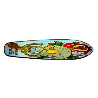 sk-8 or DIE Skate Board Deck