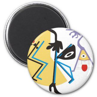 Ska 2 Inch Round Magnet