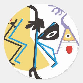Ska Classic Round Sticker