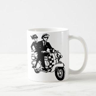 Ska Couple on Scooter Coffee Mug