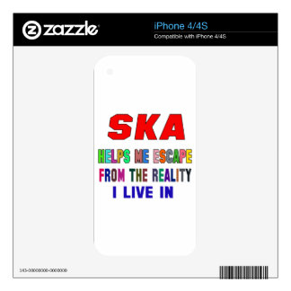 Ska Helps Me Skin For The iPhone 4S
