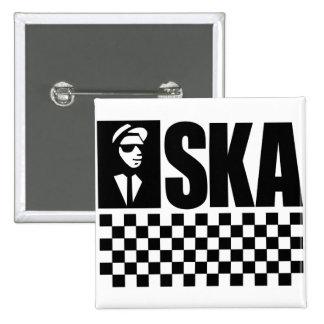 Ska Pinback Button